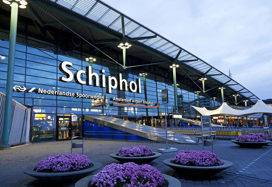 Amsterdam – Schiphol Airport (AMS)
